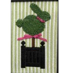 Rachel Donley Topiary Bunny