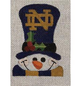 Raymond Crawford Notre Dame Snowman ornament