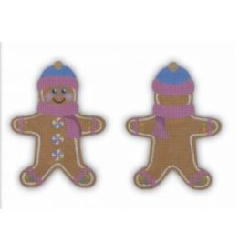 Pepperberry Design Gingerbread Man ornament<br /> (front and back)