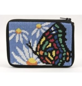 Alice Peterson Butterfly & Daisy credit card case