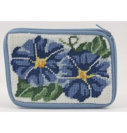 Alice Peterson Morning Glories coin purse/credit card case