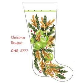 Deux Amis Christmas Bouquet Stocking