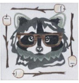 """Danji Raccoon<br /> 8"""" x 8"""""""