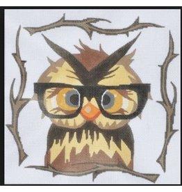 Danji Owl w/ Glasses 8x8