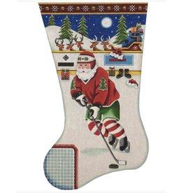 Rebecca Wood Hockey stocking