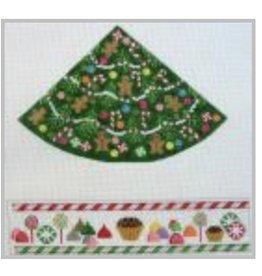 Julia Christmas Tree w/Candies<br /> Hinged Box