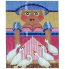 """Julia Six Geese Laying Rollup Nutcracker<br /> 6"""""""