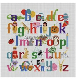 "Susan Roberts Alphabet w/Characters<br /> 20"" x 20""<br /> to fit Sudberry Chair"