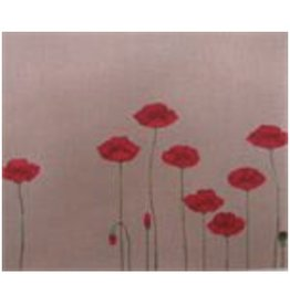 """Point of it All Field of Poppies<br /> 12"""" x 10"""""""