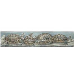 "Susan Roberts Turtles<br /> 18"" x 3.75"""