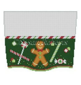 Susan Roberts Stocking Topper - Ginger & Candy
