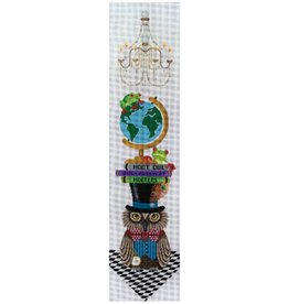 "JP Needlepoint Mad Professor Hooter<br /> 34"" x 8"""