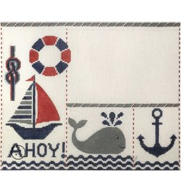 "Alice Peterson Ahoy Birth Announcement<br /> 11.5"" x 9.5"""