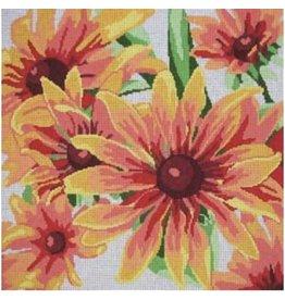 """Jean Smith Designs Gloriosa Daisy<br /> 14"""" x 14"""""""