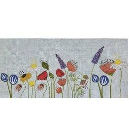 """Julie Mar Wildflower Lumbar Pillow<br /> 18.5"""" x 8"""""""