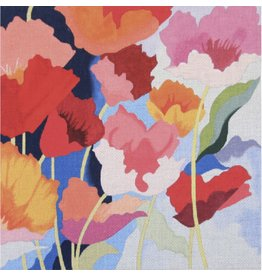 "Alice Peterson Poppies<br /> 14"" x 14"""