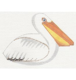 Labors of Love White Pelican Clip-on