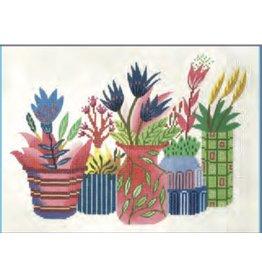 Colonial Needle Flower Pots