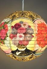 Flower Heads Paper Lantern