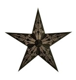 Black Damascus Star