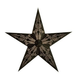 Black Damascus Star