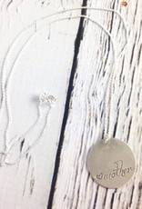 Handstamped Mother Necklace