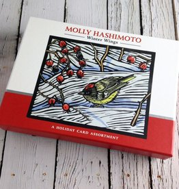 Hashimoto Winter Wings Boxed Holiday Cards