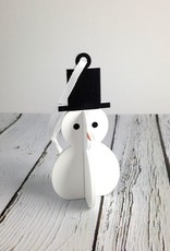 Festive Snowman Ornament