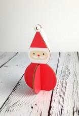 Nordic Santa Ornament