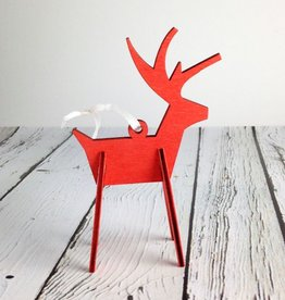Alpine Reindeer Ornament