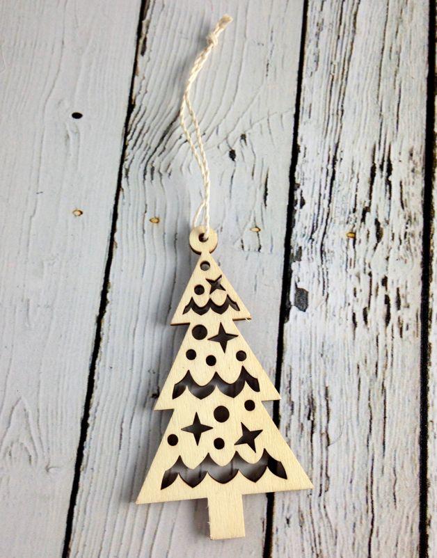 Nordic Christmas Tree Ornament