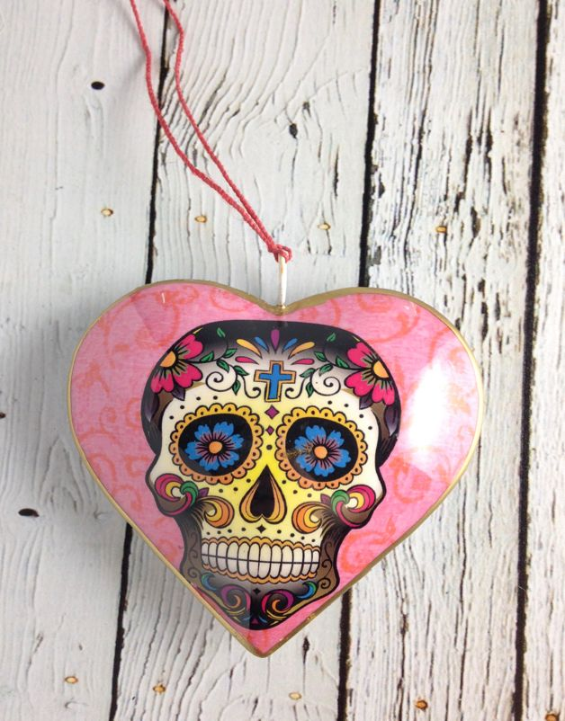 Couple Heart Ornament