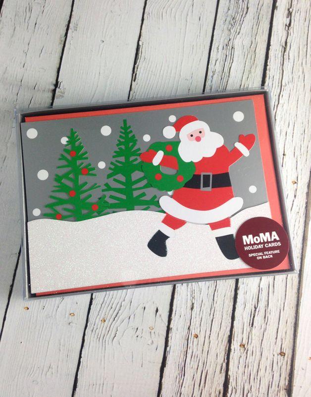 MoMA Santa's Wagon Boxed Holiday Cards