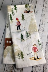 Hit the Slopes Tea Towel