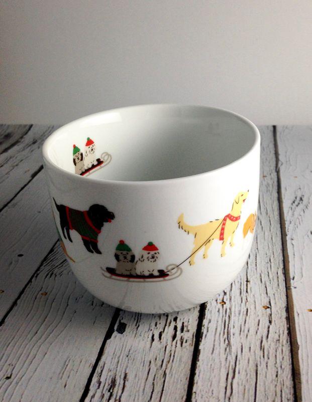 Holiday Pups Latte Mug