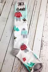 The Yeti Family Knee High Socks