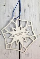 RCA dome flake ornament