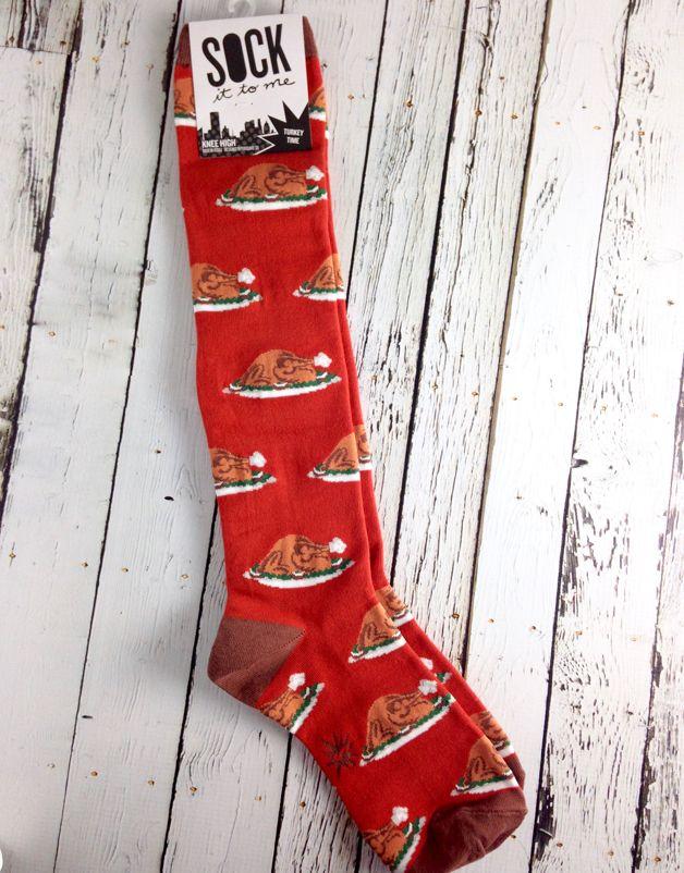 Turkey Time Knee High Socks