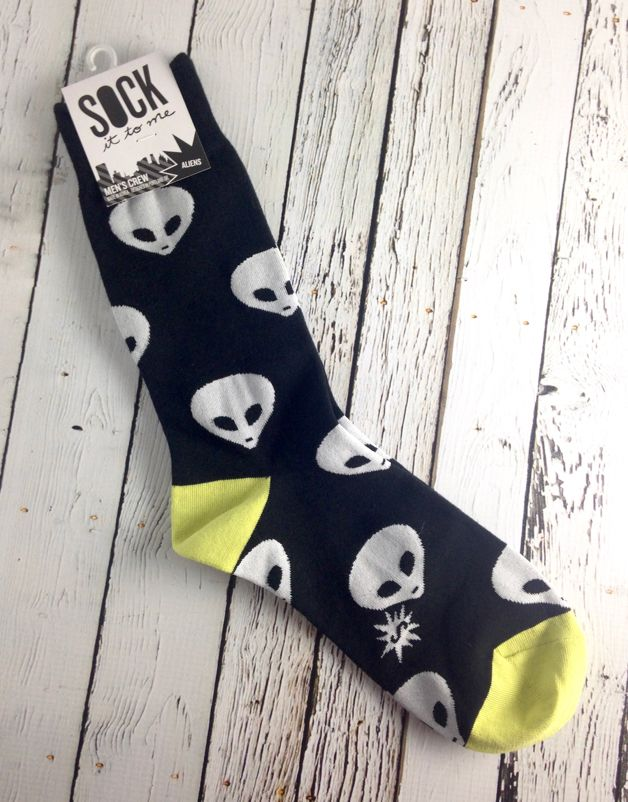 Aliens Men's Crew Socks