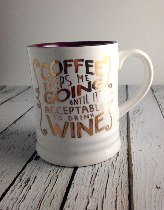 Coffee Keeps Me Going Mug