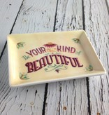 Be Your Own Kind of Beautiful Small Trinket Dish