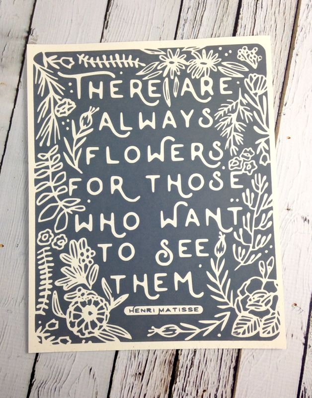 Always Flowers Print 8X10