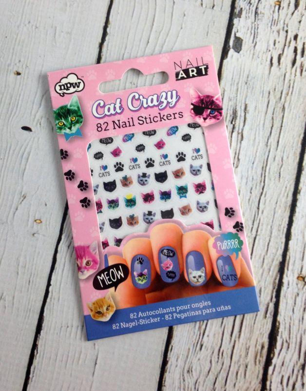 Cat Crazy Nail Art