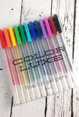 Color Luxe Gel Pens (Set of 12)