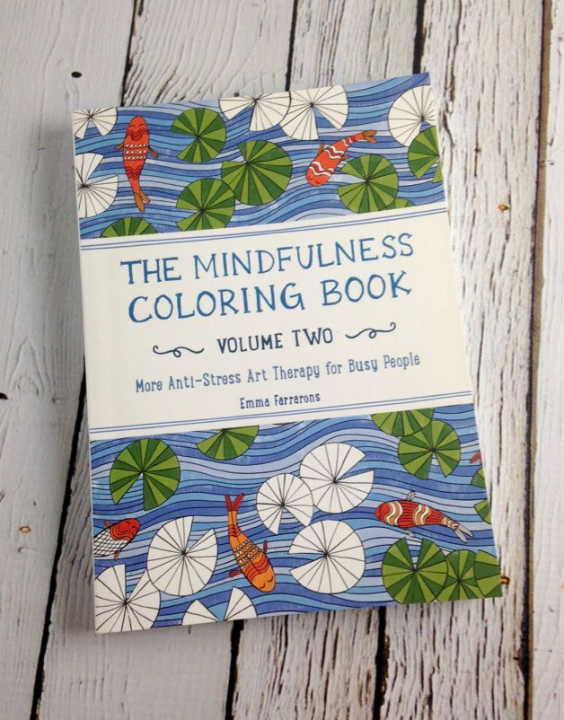 The Mindfulness Coloring Book, Volume 2