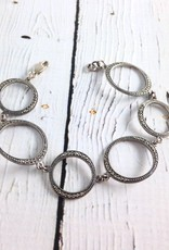 Marcasite and Sterling Silver Bracelet