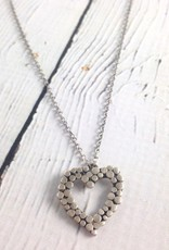 Handmade Sterling Heart Necklace