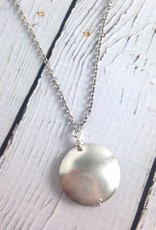 Handmade Sterling-Wrapped Coin Pearl Necklace