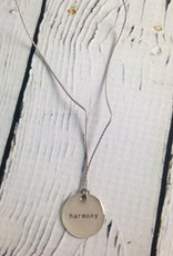 """Harmony Mini Type Necklace on 16"""" Cord"""