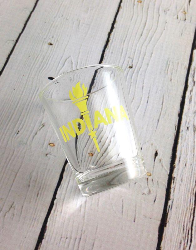 Enlightened Indiana Shot Glasses